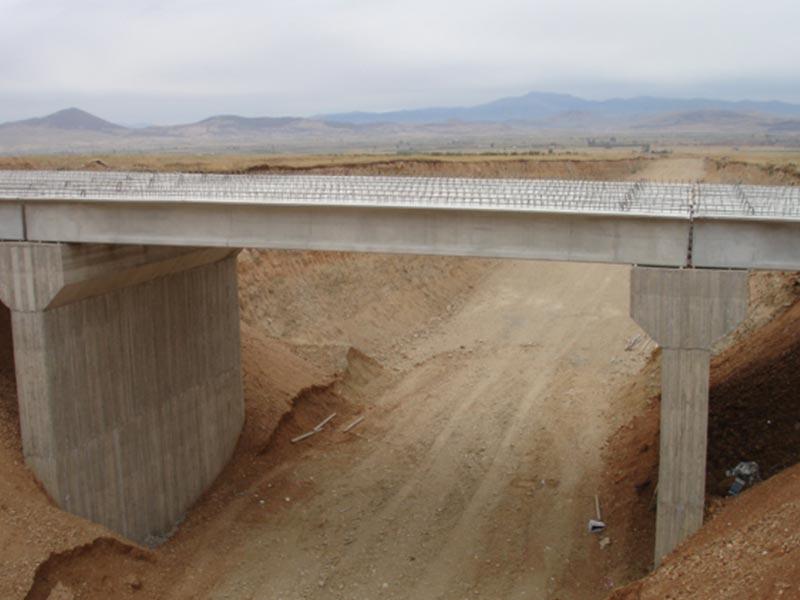 Κατασκευή γέφυρας Κ